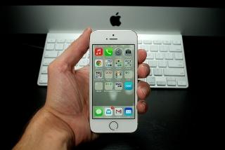 iPhone 5s được cập nhật phần mềm
