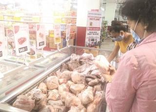 Quen dần với thịt nhập khẩu