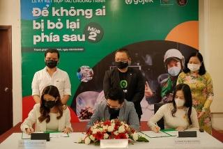 Gojek khởi động dự án hỗ trợ khởi nghiệp và thúc đẩy chuyển đổi số
