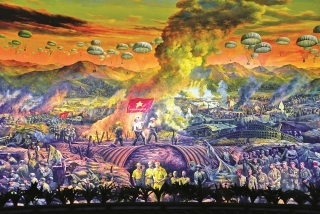 Bản hùng ca Điện Biên qua tranh Panorama