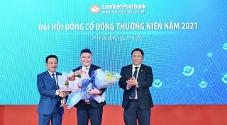 """""""Bầu"""" Thụy chính thức trở thành Phó Chủ tịch HĐQT LienVietPostBank"""