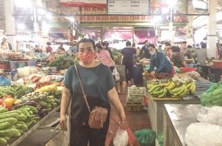 Không đeo khẩu trang, không vào chợ