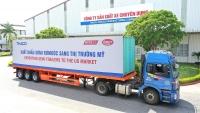THACO đẩy mạnh xuất khẩu sơmi rơmoóc sang thị trường Mỹ