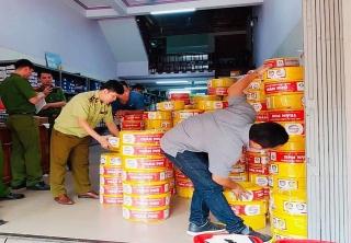 Chuyển giao hồ sơ vụ kinh doanh dây điện giả nhãn hiệu Trần Phú sang Công an