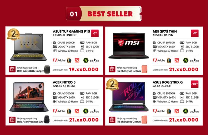 Laptop chơi game đắt hàng mùa dịch