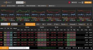 VN-Index giằng co mạnh quanh 1.250 điểm, sự phân hóa gia tăng