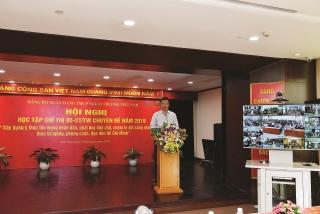 Đảng bộ Vietcombank đẩy mạnh học tập và làm theo Bác