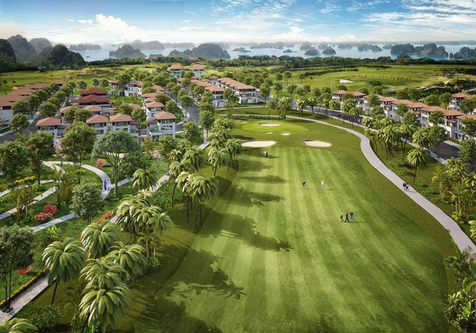 mo ban giai doan cuoi biet thu doi huong vinh san golf flc grand villa halong