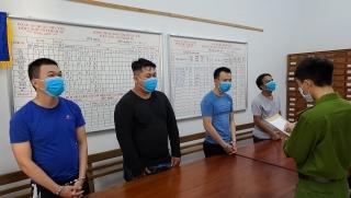 Khởi tố, bắt tạm giam đối tượng cướp tài sản tại Cảng cá Thọ Quang