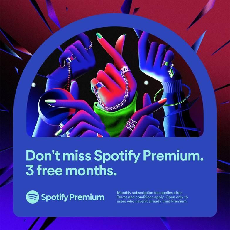 spotify premium gioi thieu uu dai moi