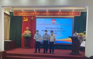 BIC ủng hộ 300 triệu đồng hỗ trợhaitỉnh Bắc Ninh và Bắc Giang phòng chống dịch COVID-19