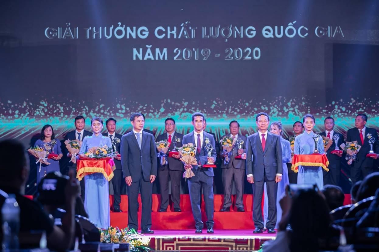 tap doan prime duoc vinh danh tai giai thuong chat luong quoc gia 2020