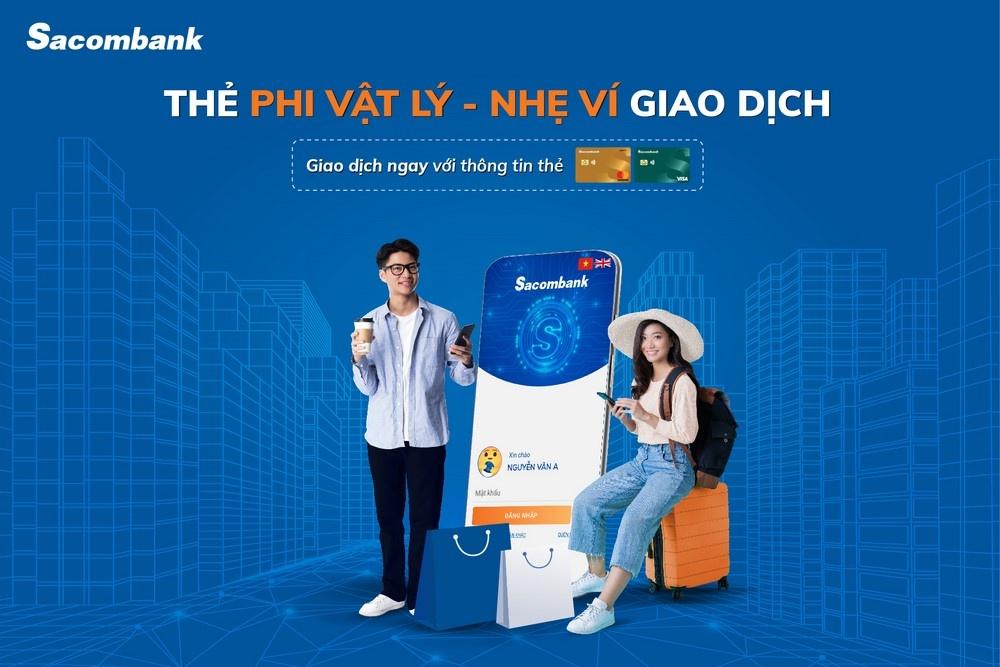 mo the phi vat ly de dang tren ung dung sacombank pay