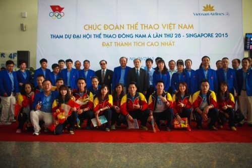 Đoàn Thể thao Việt Nam lên đường tham dự SEA Games 28