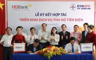 HDBank triển khai dịch vụ thu hộ tiền điện tại Đồng Nai