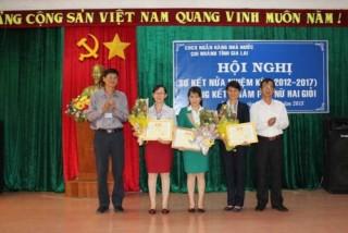 NHNN Gia Lai: Nhiều tập thể và cá nhân nữ xuất sắc được tuyên dương khen thưởng