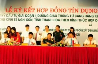 Vietcombank tài trợ hơn 3.550 tỷ cho dự án giao thông Thanh Hóa