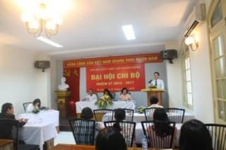 Cơ quan thường trực VNBA tổ chức Đại hội Chi bộ nhiệm kỳ 2015-2017