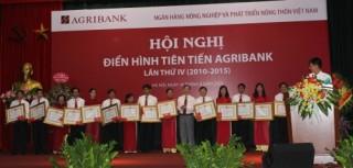 Agribank tổ chức Hội nghị Điển hình tiên tiến lần thứ IV