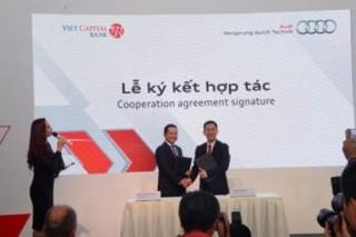 Viet Capital Bank cho vay mua Audi lãi suất 6,9%