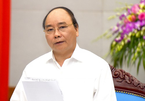 Thủ tướng chủ trì Phiên họp Chính phủ thường kỳ tháng 5/2016