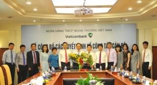 Vietcombank bổ nhiệm một loạt nhân sự mới