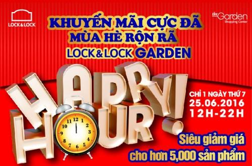 Lock&Lock giảm giá 30%-50% tất cả các sản phẩm