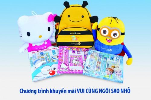 """Viet Capital Bank tặng quà cho khách gửi tiết kiệm tích lũy 'Ngôi sao nhỏ"""""""