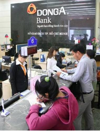 DongA Bank: Tung gói tín dụng 1.000 tỷ đồng hậu cơ cấu