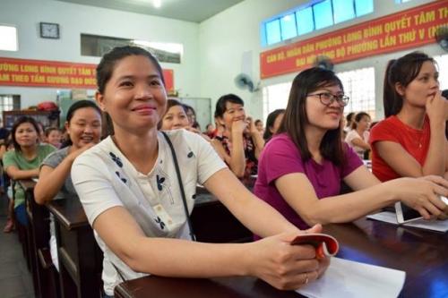 Home Credit tham gia chia sẻ về phụ nữ độc lập