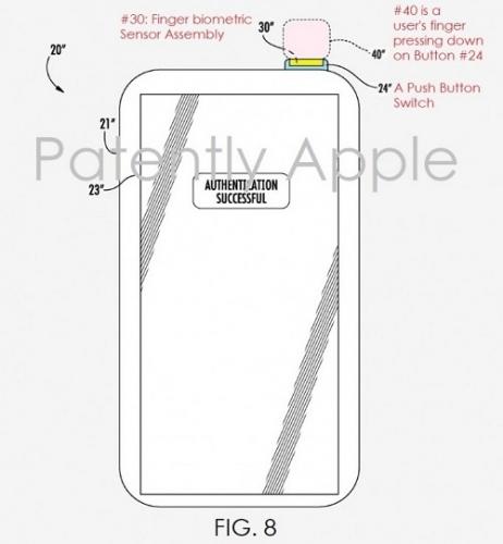 Sau 2 năm, Apple cũng sánh ngang Sony về cảm biến vân tay trên nút nguồn