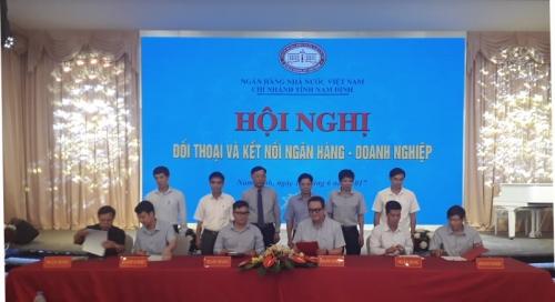 Thêm 645 tỷ đồng kết nối ngân hàng - doanh nghiệp trên địa bàn tỉnh Nam Định