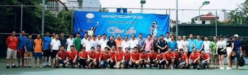 VAMC tổ chức giải giao lưu Tennis mở rộng năm 2017