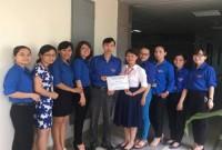 """Chi đoàn Vụ Thanh toán (NHNN) tổ chức Chương trình từ thiện """"Bữa trưa nhân ái"""""""