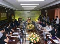 Phó thủ tướng Chính phủ Hoàng gia Campuchia đến thăm và làm việc tại BIDV