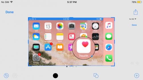 iOS 11 thổi luồng gió mới cho tính năng chụp ảnh màn hình