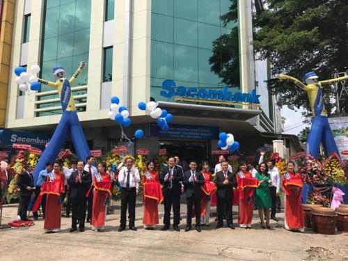 Sacombank mở rộng mạng lưới