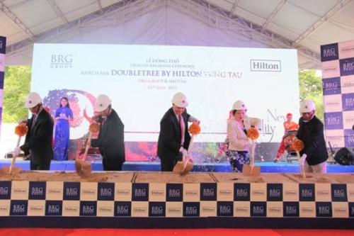 BRG động thổ dự án khách sạn 5 sao tại Vũng Tàu