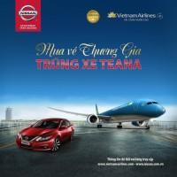"""Vietnam Airlines triển khai chương trình """"Mua vé Thương gia, trúng xe Teana"""""""