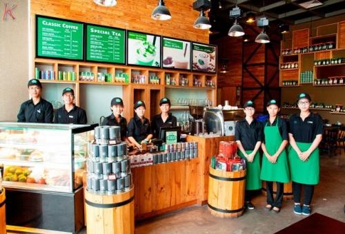 Phúc Long ngay sau Starbucks