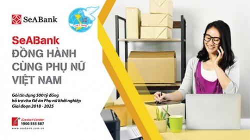 SeABank triển khai gói tín dụng 500 tỷ đồng hỗ trợ phụ nữ khởi nghiệp
