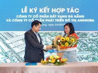Đất Xanh Đà Nẵng tổ chức ra quân dự án Tăng Long Angkora Park