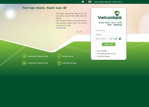 Vietcombank sẽ ngừng cung cấp dịch vụ VCB – iB@nking trên máy tính phiên bản cũ