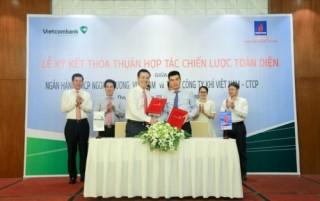 Vietcombank ký hợp tác khung tín dụng 4.000 tỷ đồng với PV Gas