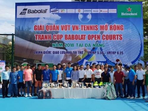 Giải tennis mở rộng tranh cúp Babolat open Court 2018 thành công tốt đẹp