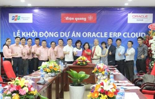 Điện Quang quản trị bằng giải pháp Oracle ERP Cloud