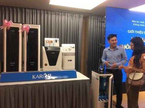 Karofi Việt Nam giới thiệu bộ sản phẩm an tâm toàn diện