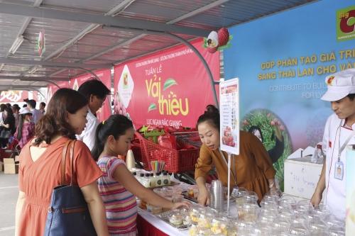 Big C Việt Nam tạo giá trị thương hiệu cho trái vải thiều Lục Ngạn