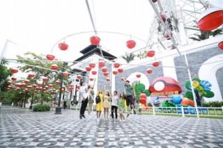 Khai mạc lễ hội đèn lồng lớn nhất Đà Nẵng, khán giả nhí mê mẩn không muốn về