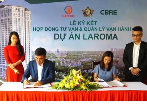 CBRE Việt Nam độc quyền quản lý dự án Hateco Laroma